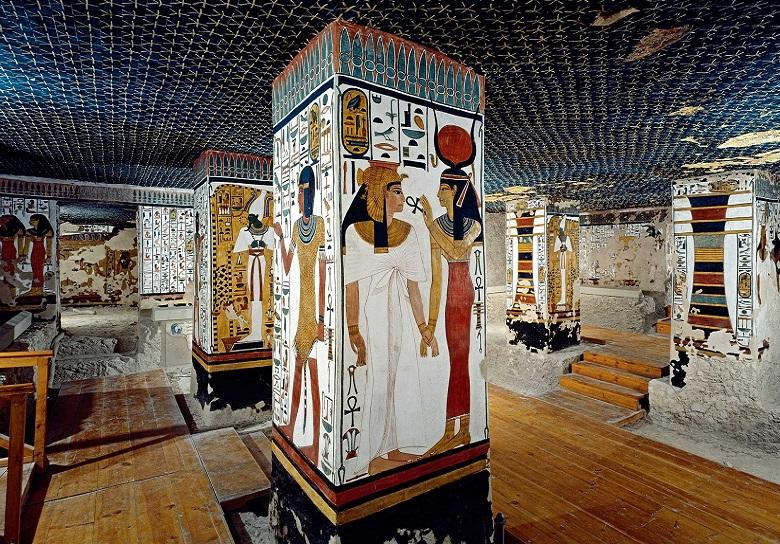 Tombs of Queens Nefertari and Titi