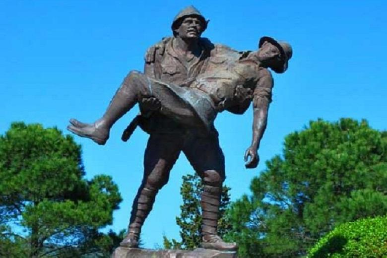 The passionate story of a soldier who saved a wounded enemy