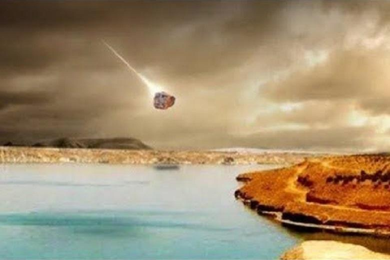 Space tragedy of palaeolithic age: What destroyed ancient settlement of Abu Hureyra?