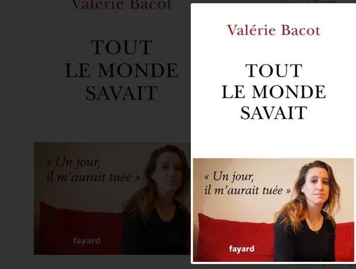 The book 'Tout le monde savait' (Everyone knew) was published at the beginning of May