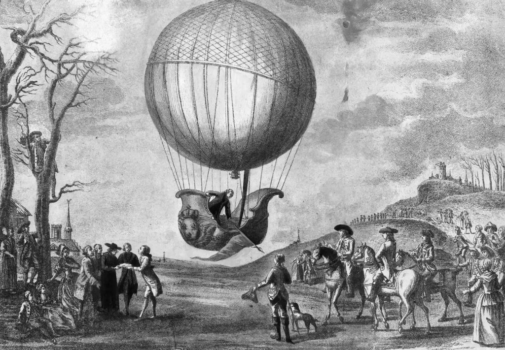 Jacques Charles, in 1783, invented the first hydrogen balloon.