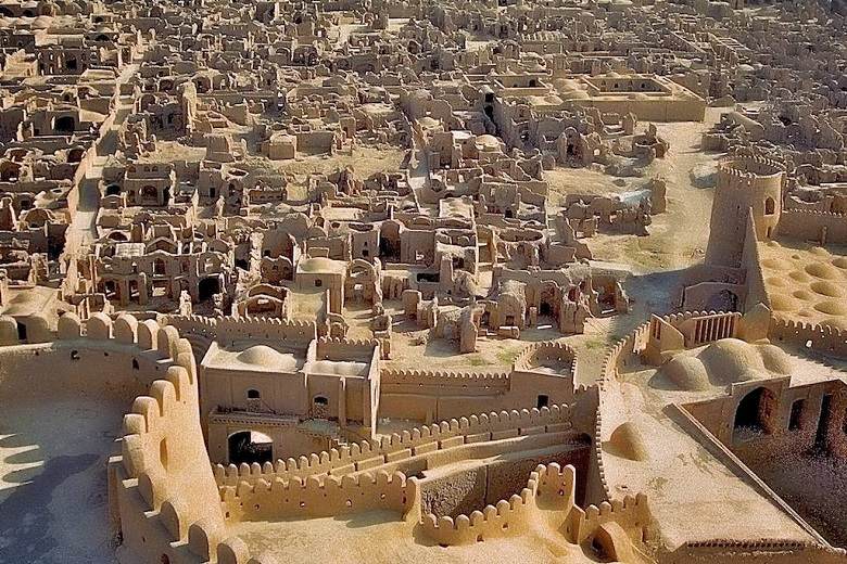 Secrets of ancient clay city of Bam appeared 200 years earlier than Rome