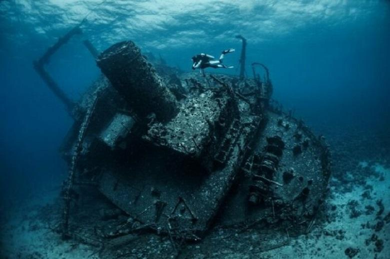 """""""cemetery of spaceships"""" found in point Nemo"""