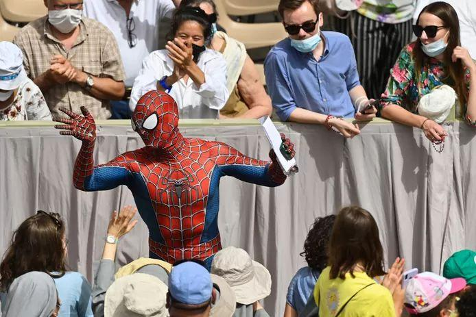 Pope Francis gets Spider-Man to visit the Vatican