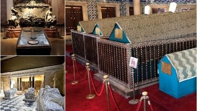 It is customary to treat the last refuge of the deceased, no matter how the body is after death, with reverence. It is not surprising that the tombs of noblewomen