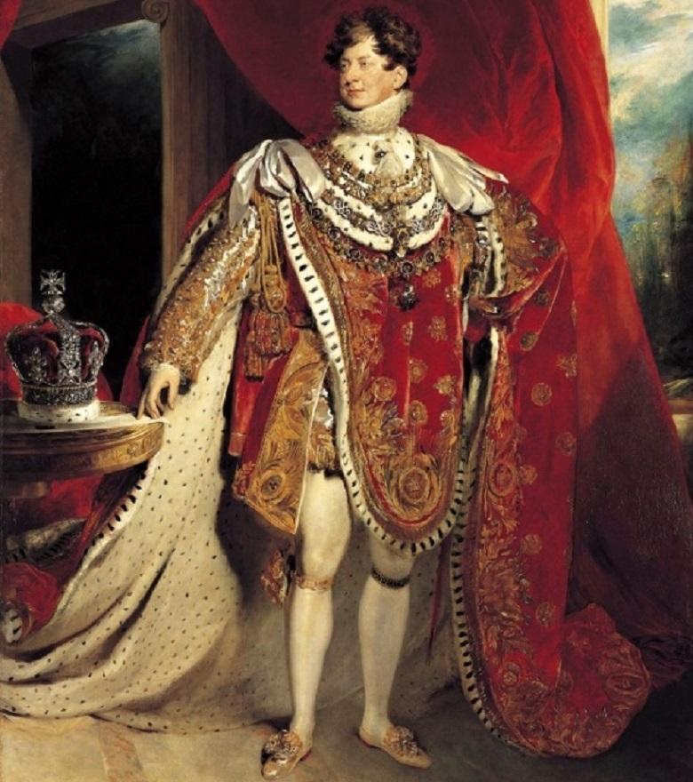 British King George IV