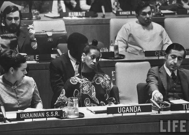 Elizabeth of toro, when she was Ugandan Ambassador to UN