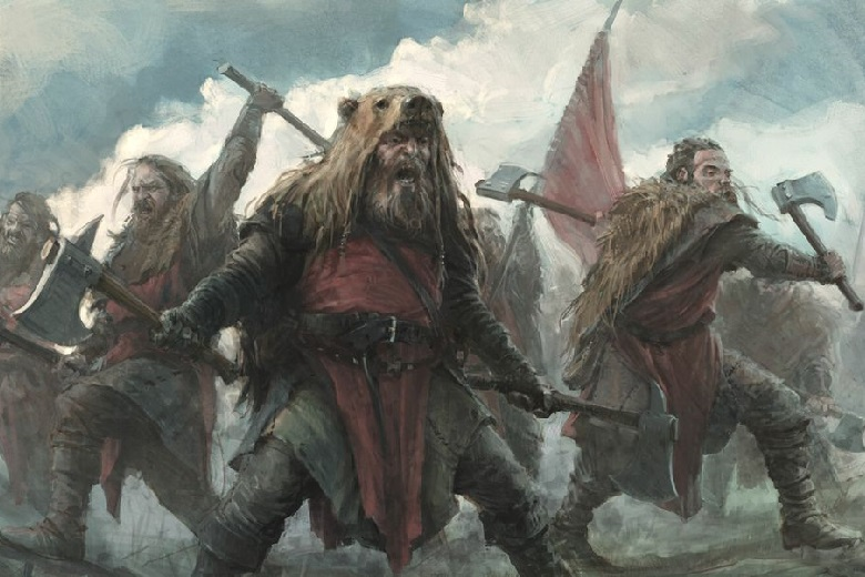 Who are the mysterious berserkers that the eastern Slavs feared?