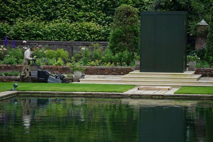 Kensington Palace's Sunken Garden was re-created in Diana's honor