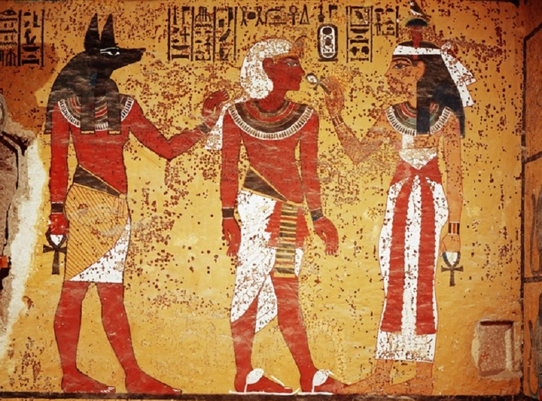 Why did Egyptians depict all people flat and only in profile?