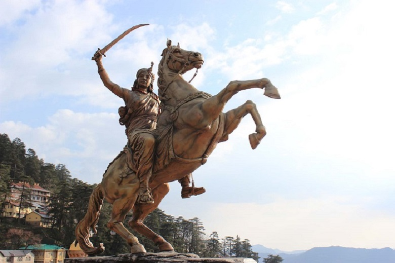 Lakshmi Bai monuments in India