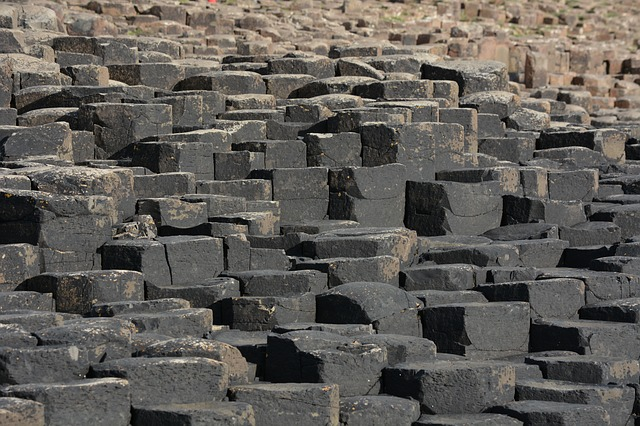 Giants causeway story, the origin of which is still debated